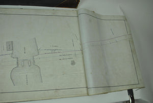 Boston & Albany Railroad Weston Massachusetts Land Survey Drafting 1833-1896