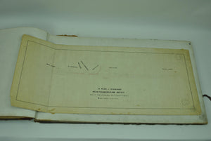 Boston & Albany Railroad Ashland Framingham Massachusetts Land Survey 1848-1908