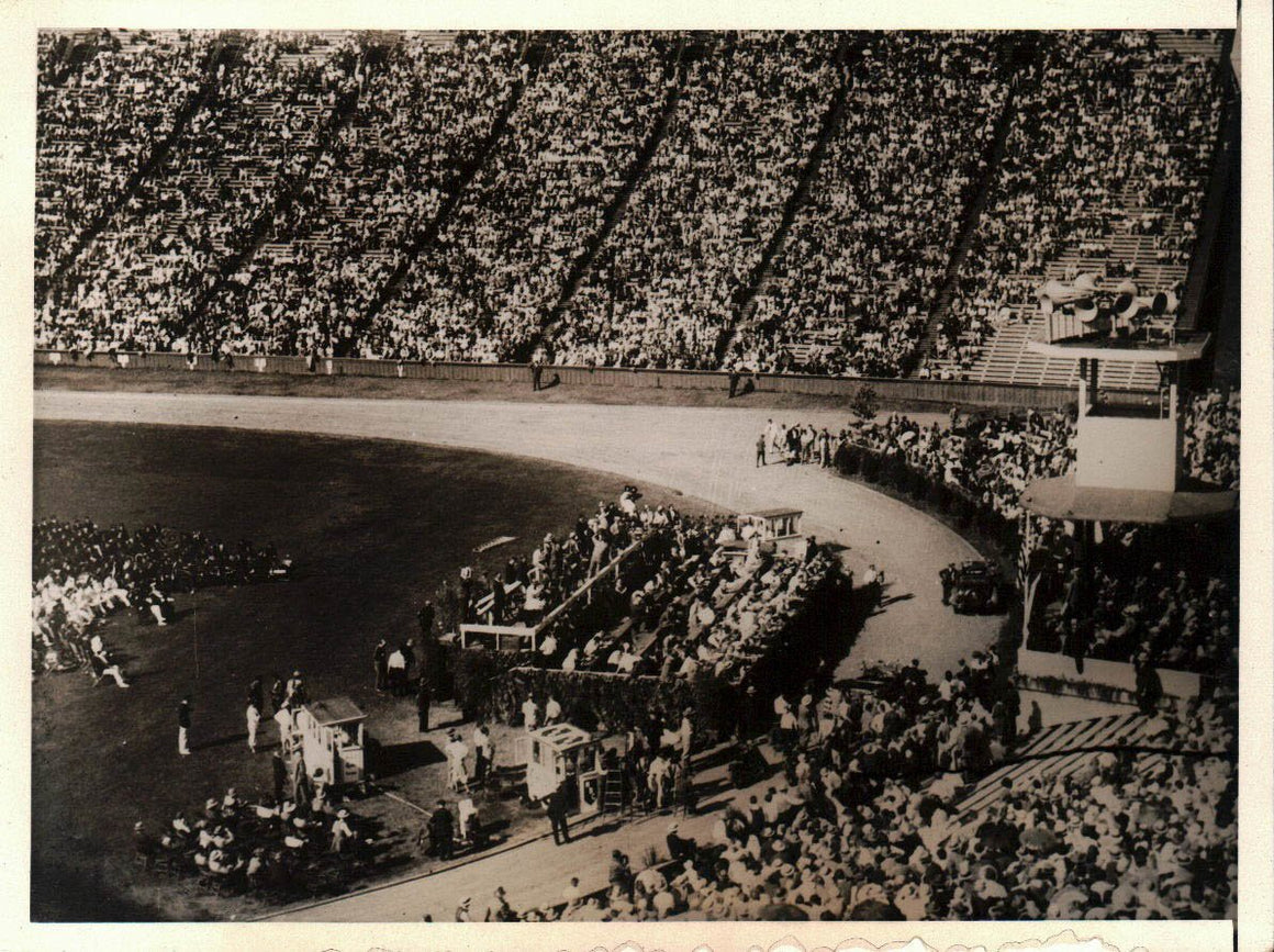 Stanford University Stadium Herbert Hoover Republican Nomination Accept Photo