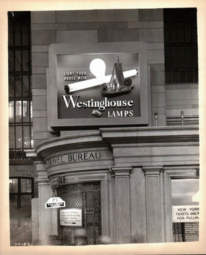 Grand Central Terminal New York City Westinghouse Lamps Pullman Photo