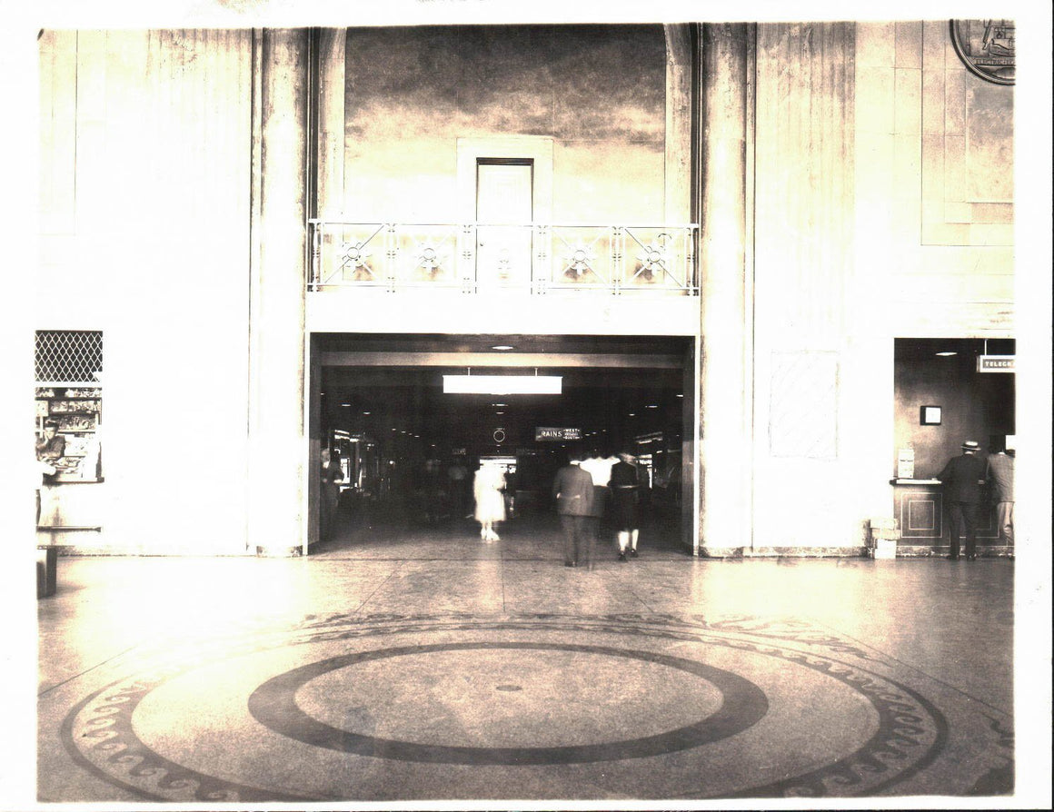 Pennsylvania Railroad Station Newark New Jersey Photograph A