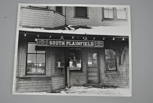Lehigh Valley Railroad South Plainfield Station Photograph