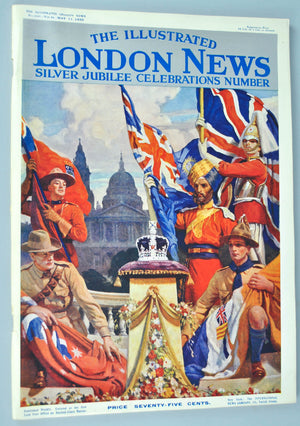 The Illustrated London News May 11 1935 Silver Jubilee King George V