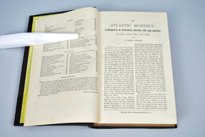 Atlantic Monthly Magazine Jul-Dec 1883