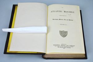 Atlantic Monthly Magazine Jan-Jun 1885