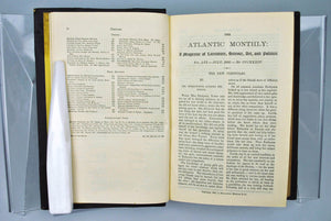 Atlantic Monthly Magazine Jul-Dec 1885