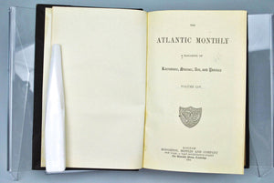 Atlantic Monthly Magazine Jul-Dec 1884
