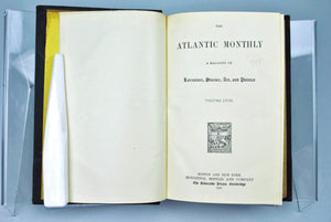 Atlantic Monthly Magazine Jul-Dec 1886