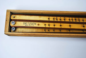 Vintage DIETZGEN PANTOGRAPH Model 1875 Harwood – 41in long in Original Box
