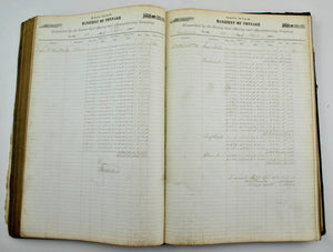Railroad Manifest of Tonnage Central Coal Mining and Manufactuing Co 1867-1869