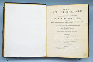 Shaw's Civil Architecture by Edward Shaw 1856