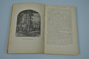 Lake George Illustrated & Saratoga Springs 2 books in one by S.R. Stoddard 1881