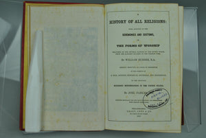 A History of All Religions by William Burder 1860