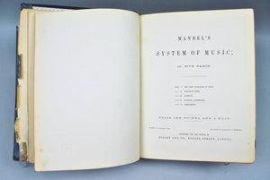 Mandel's System of Music 1867