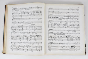 Parsifal by Richard Wagnar - Signed by Gustav Weber