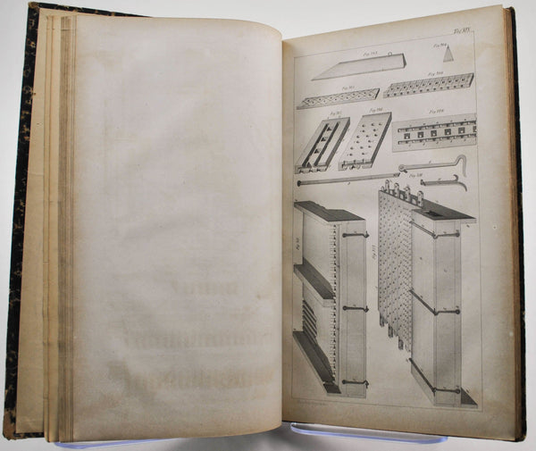 Plate Book for how to Build a Church Organ c1855