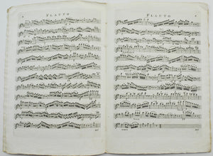 Antique Music Sheet Grand Trio for Piano by Ignace Pleyel c.1800's J.J.Hummel