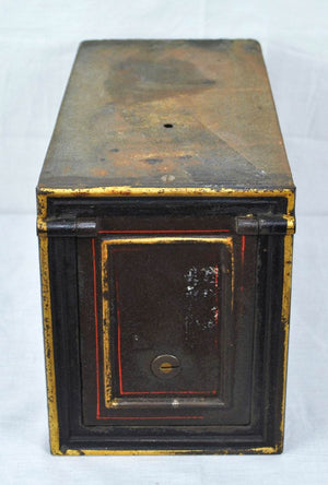 Antique Art Deco Safe Lock Box