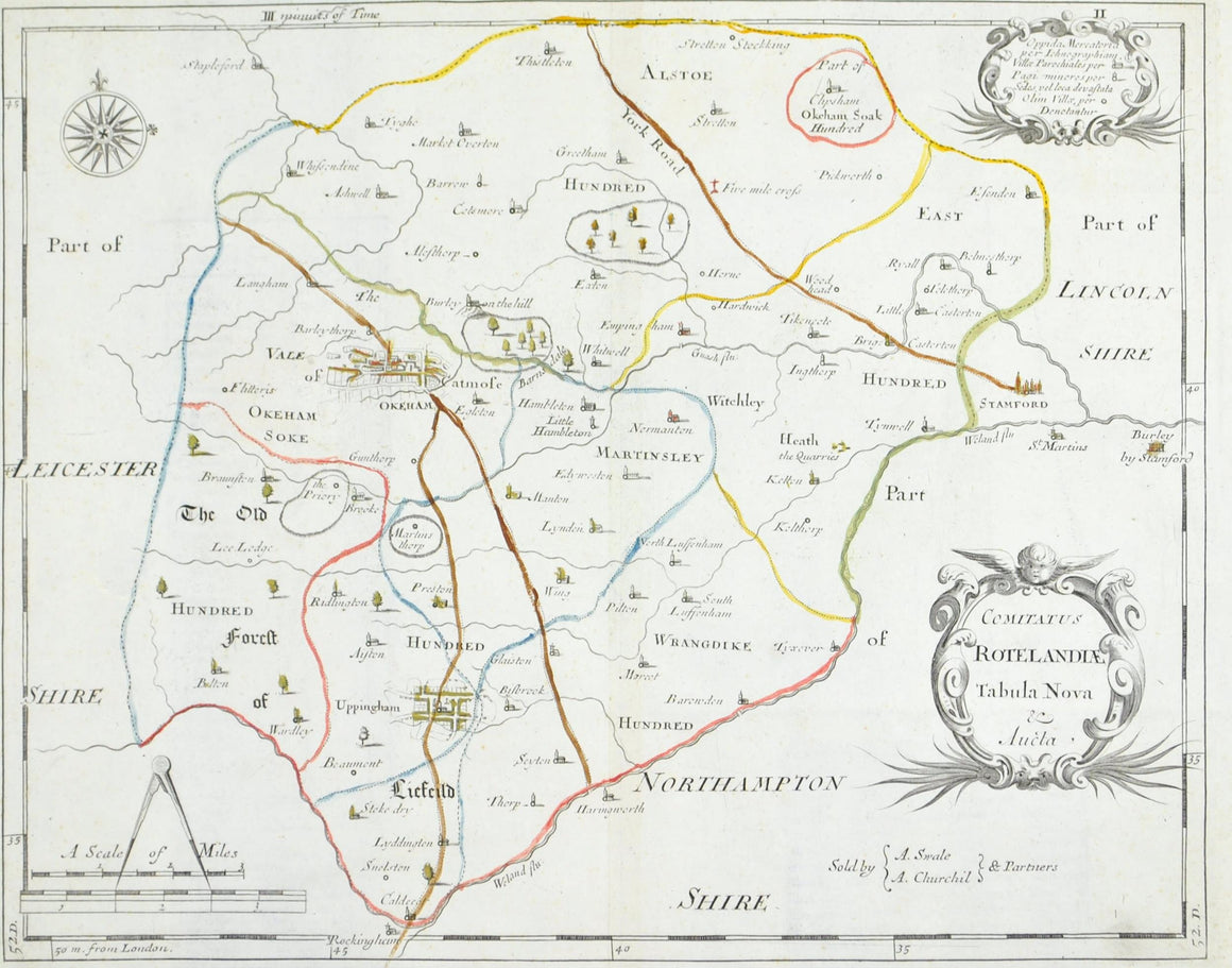 1700 County of Rutland England - Robert Modern