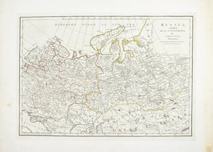 1774 Map of Russia - Dunn