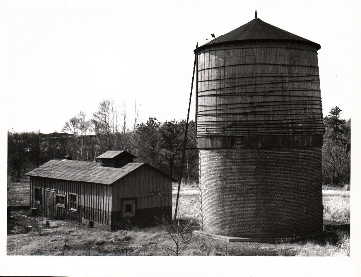 Winslow Junction Railroad Photo Rural Building Silo