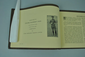 Coast Artillery ROTC Camp Fort Monroe Virginia 1922 Yearbook