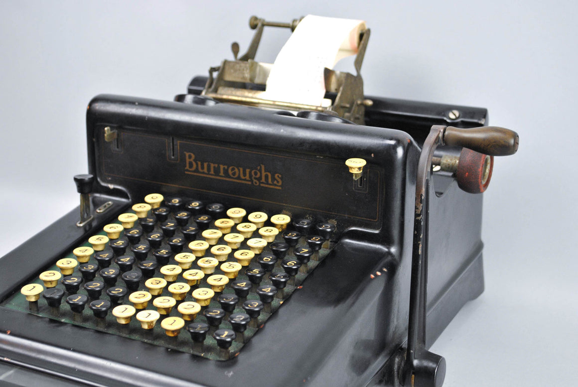 Burroughs Adding Machine 1920s Works