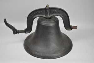 Cast Iron No 1 Yoke School Farm Bell 1886
