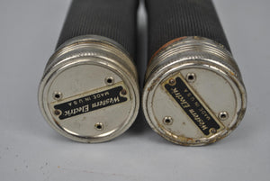 2 Western Electric Telephone Cylinders