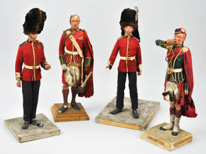 Mary Nicoll 1939 New York City World's Fair Handmade British Military Figures