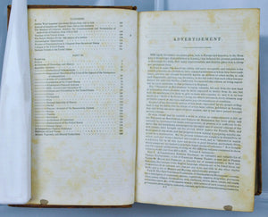Treasury of Knowledge 1836 Containing early Gazetteer Dictionary Etc