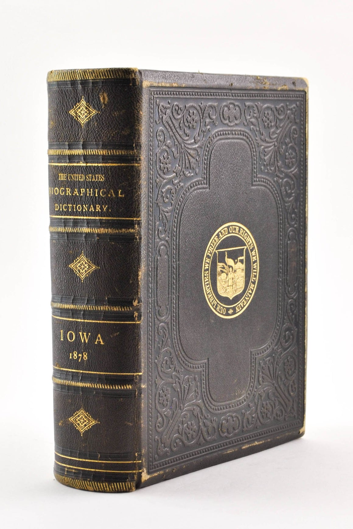 The United States Biographical Dictionary and Portrait Gallery Iowa 1878