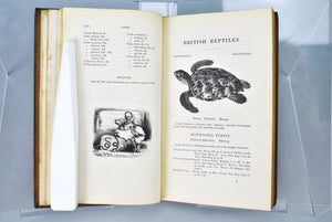A History of British Reptiles by Thomas Bell 1839 Signed by Publisher