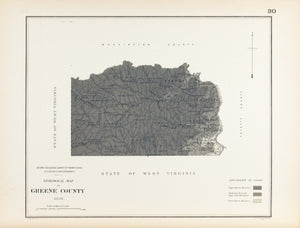 1885 Greene County Pennsylvania - Lesley