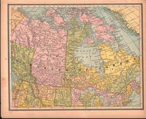 1887 Dominion of Canada - Cram