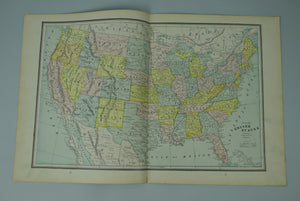 1887 United States Maine - Cram