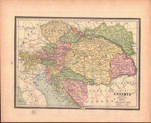 1887 Germany Austria - Cram