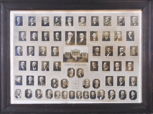 State of Virginia Political Photos 1912 Governor Mann General Assembly Print