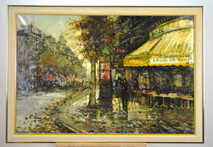 Bruno Nardini - European Street Scene - Oil Painting