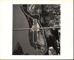 Aerial Photograph Rosslyn Circle Washington DC 1941 Photo