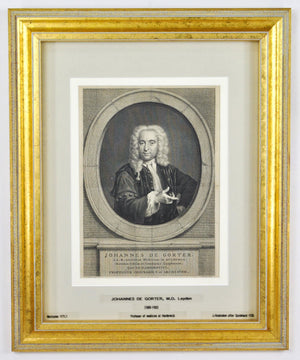 Johannes De Gorter (1689-1762) Antique Doctor Print