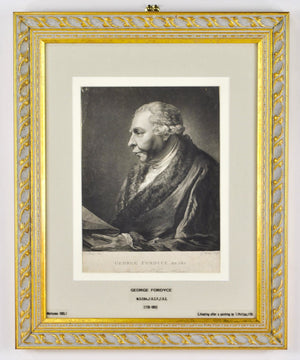 George Fordyce (1736-1802) Antique Doctor Print 1795