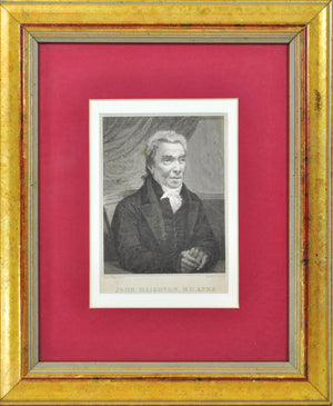 John Haighton MD (1755-1823) Antique Medical Doctor Print 1819