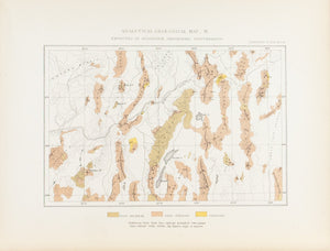 1870 Analytical Geological Map XI - Clarence King