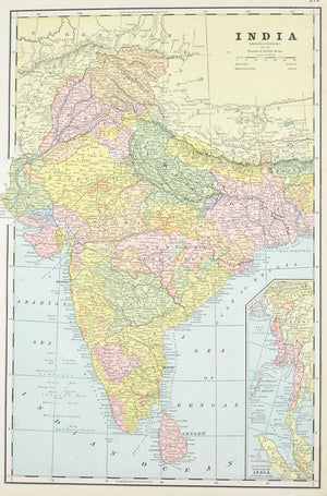 1887 China and India - Cram
