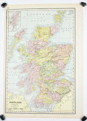 1887 Scotland & Ireland - Cram