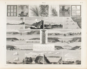 Fog Formation Mirage Antique Meteorology Print 1857
