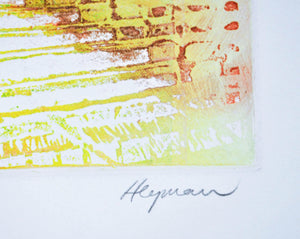 Lawrence Heyman Luminous Garden Abstract Wall Art Print Limited Signed