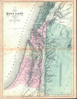 1861 The Holy Land in Time of Christ - D Griffing