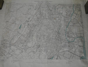 1914 Geological Survey of New Jersey Newark - Henry Kummel